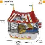 Jaula Circus Fun al mejor precio